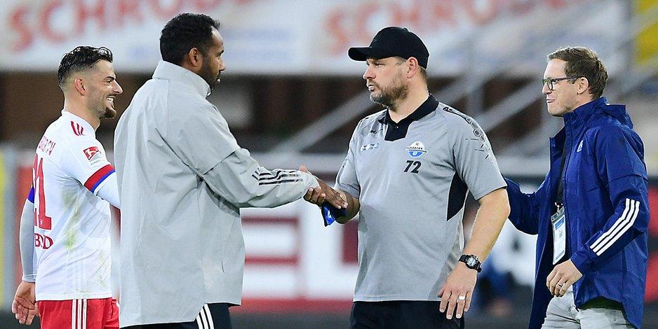 Auch Hannover will ihn: Aber Trainer Baumgart ist schon heiß auf den HSV | Hamburger Morgenpost