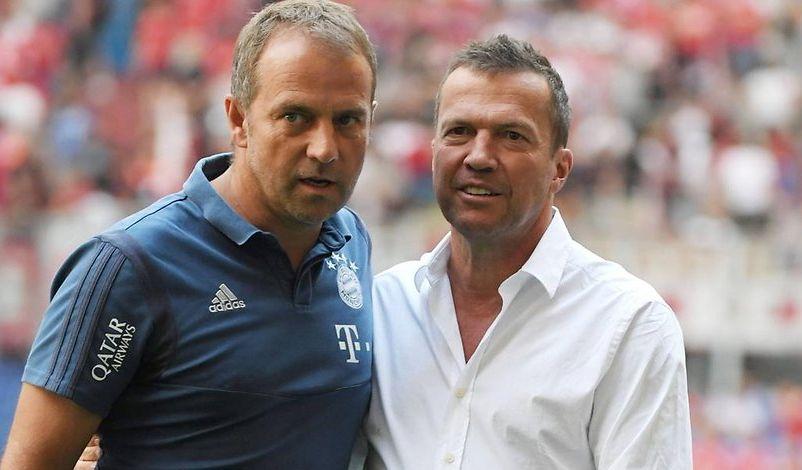 Lothar Matthäus und Hansi Flick