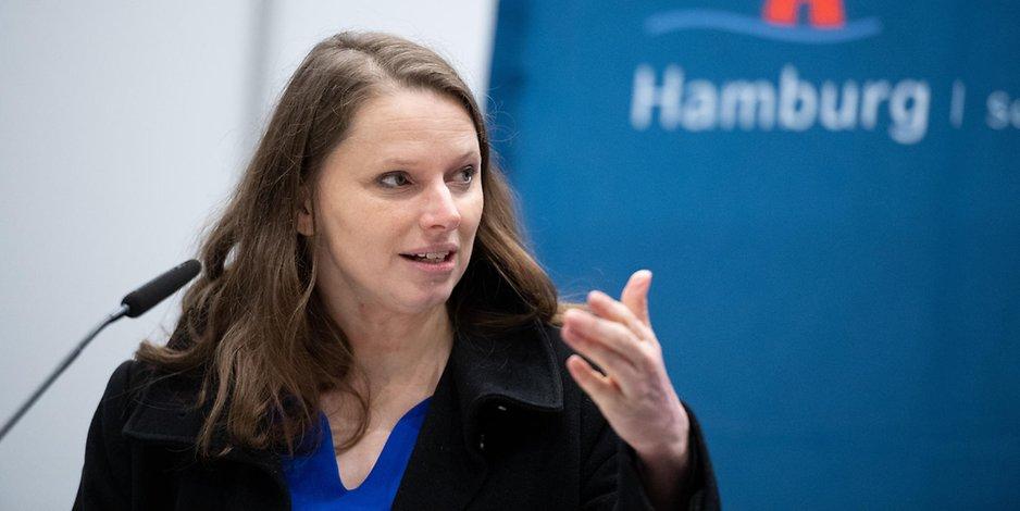 Hamburgs Gesungheitssenatorin Melanie Leonhard