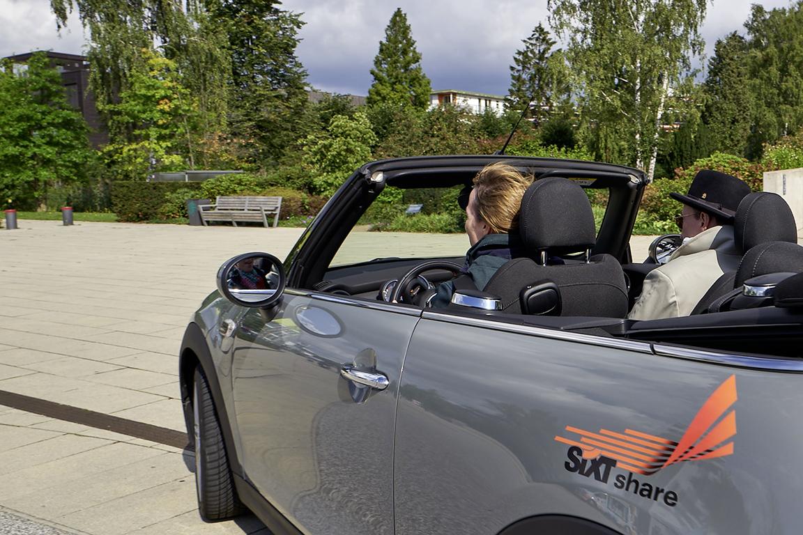 Ein Wagen von SIXT share