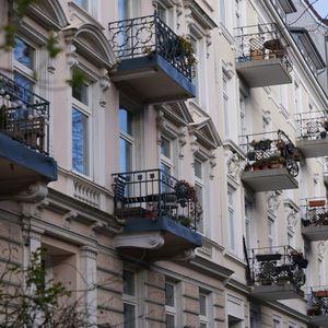 Wohnungen und Balkone in Hamburg-Eimsbüttel