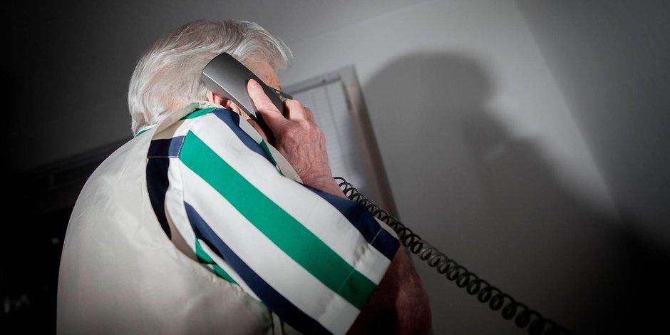 Trickbetrug per Telefon.