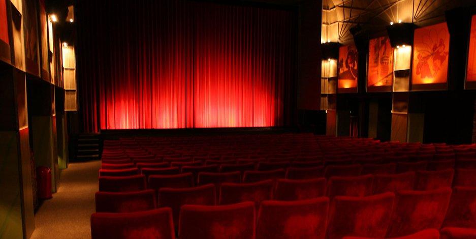 Der Kinosaal 1 im Zeise-Kino