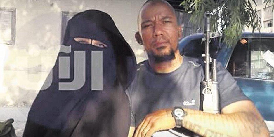 Omaima A. mit dem IS-Terroristen Denis Cuspert