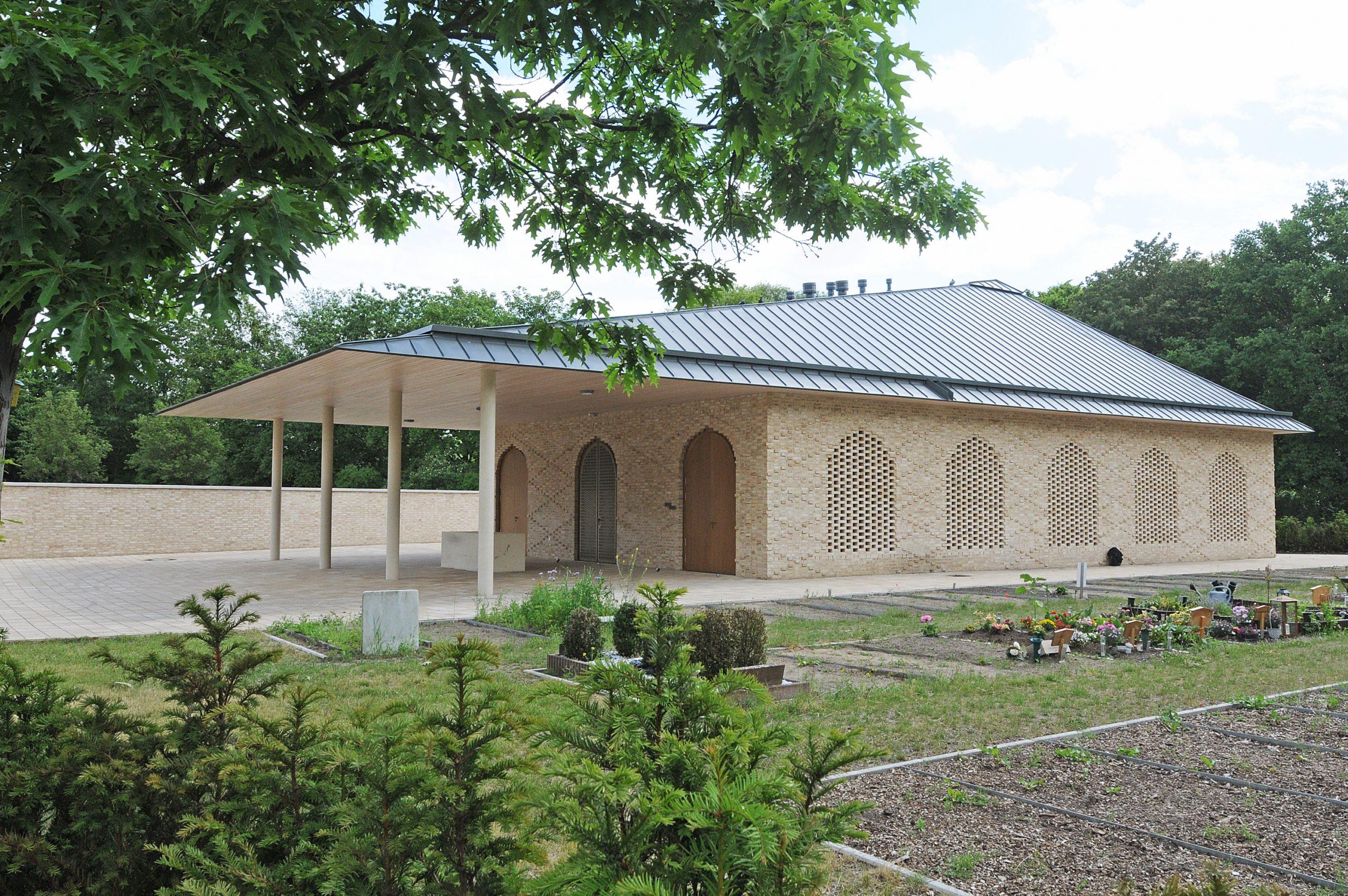 Dieses Waschhaus kaufte die Deges für das neue muslimische Gräberfeld.