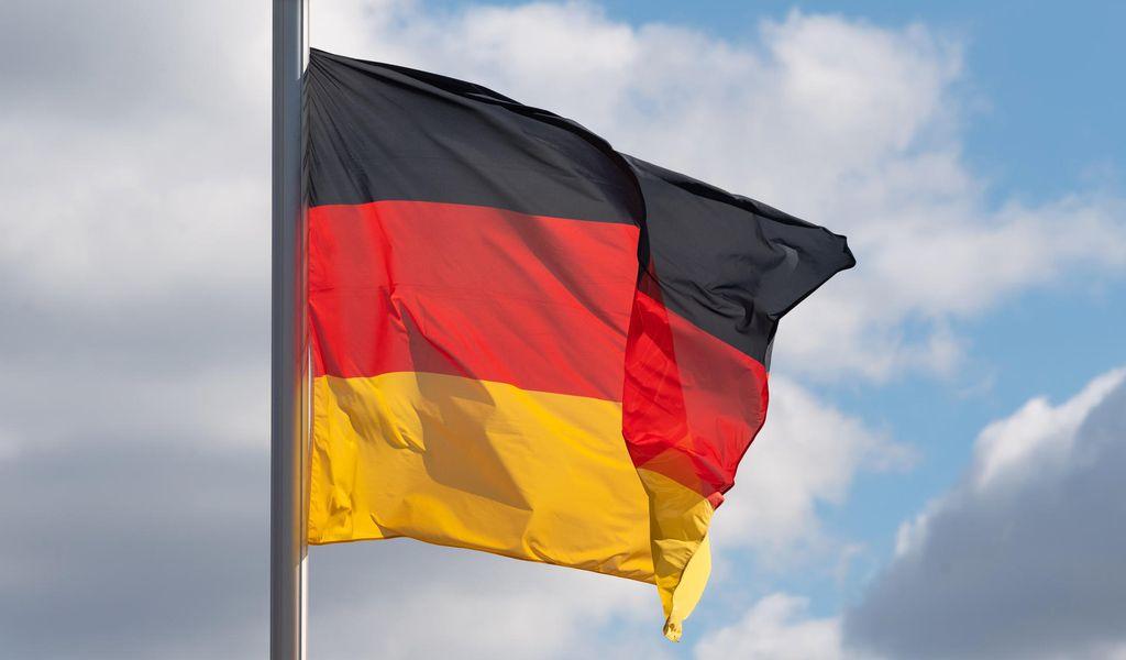 Deutschland-Fahne.