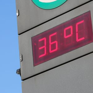 Hitze in Hamburg (Symbolbild).