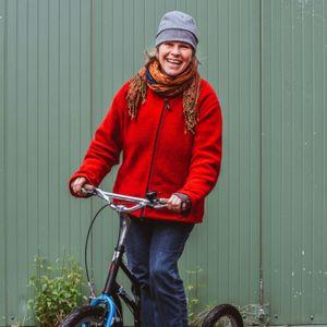 Felicitas Gierse ist zertifizierte Radfahrlehrerin in Hamburg.