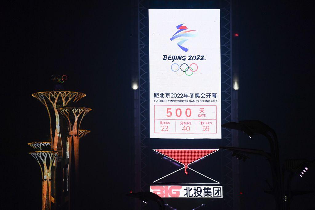 Peking Olympia-Countdown