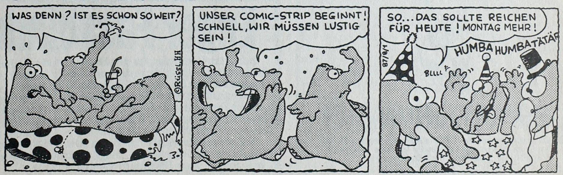 Erster Ottifanten-Comic in der MOPO