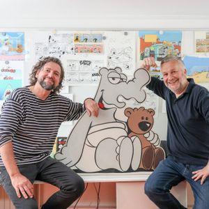 Ottifanten-Zeichner Ully Arndt und Gunter Baarster