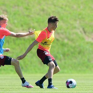Jannes Wieckhoff (l.) und Christian Viet