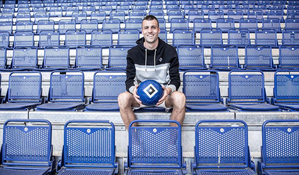 Happy in Hamburg: Für Jonas Meffert schließt sich mit dem Wechsel zum HSV ein Kreis.