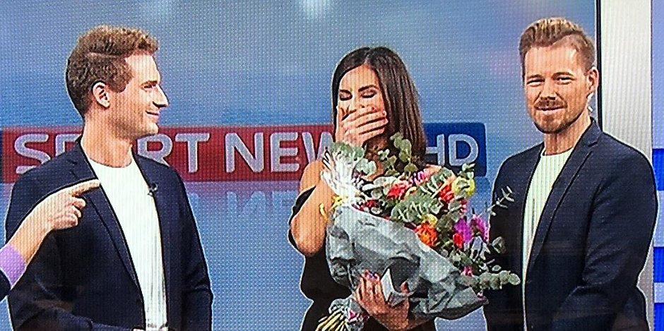 Live Tranen Am Letzten Tag Rtl Neuzugang Jana Azizi Bei Sky Emotional Verabschiedet Mopo