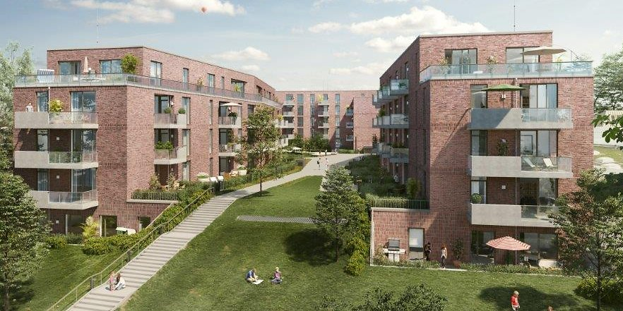 Neue Wohnungen in Ohlsdorf