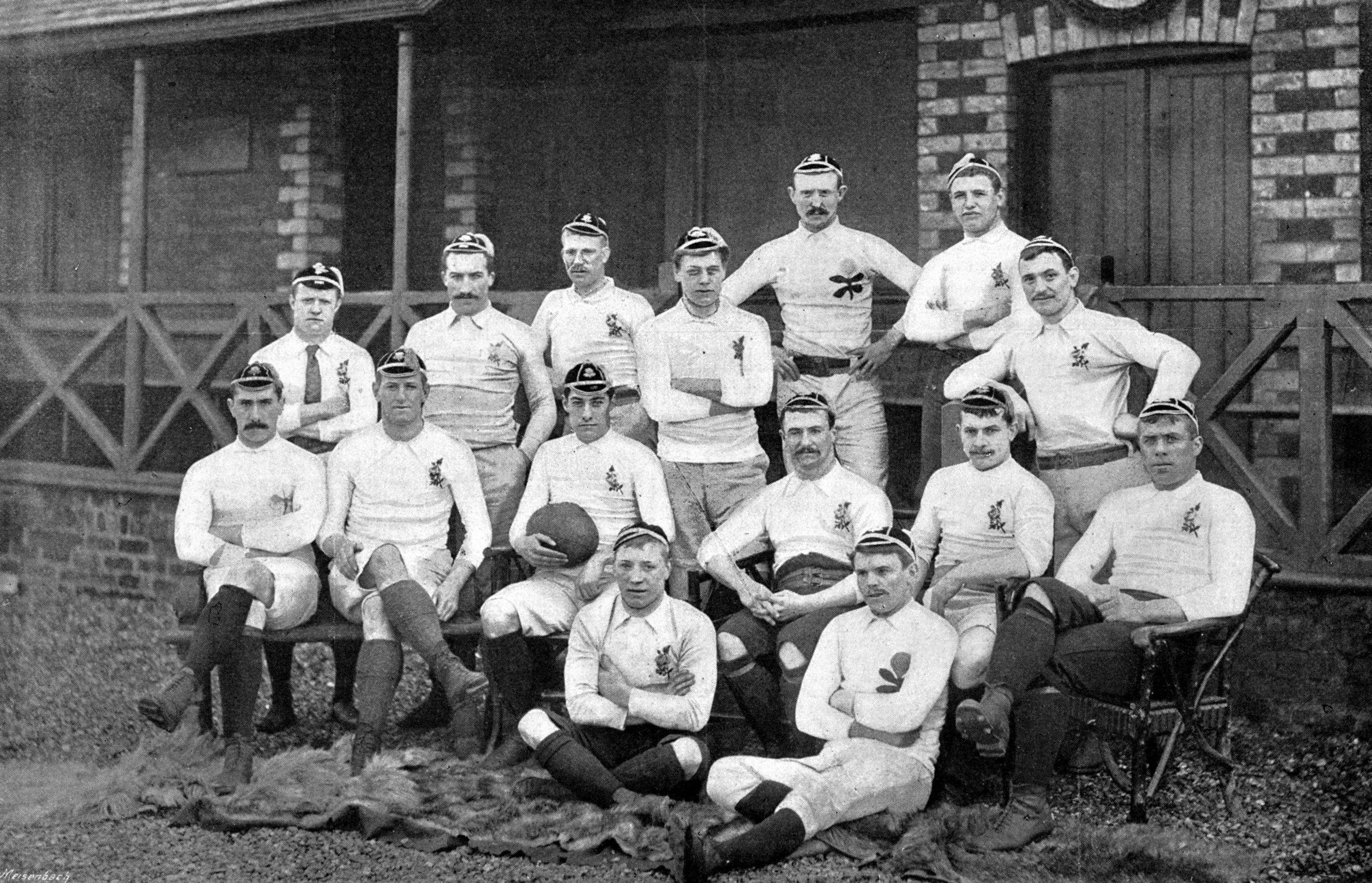 Erstes Länderspiel England gegen Schottland