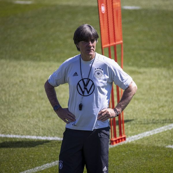 Joachim Löw beim Training