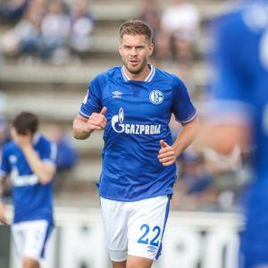 Simon Terodde jubelt für den FC Schalke 04