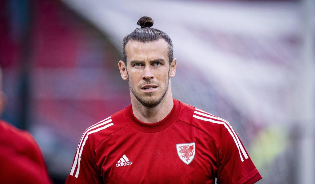 Gareth Bale im Trikot von Wales