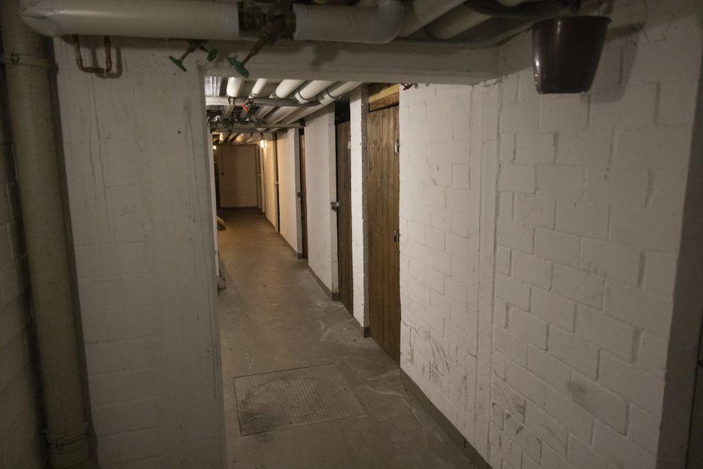 An vielen Kellertüren wurden wegen der Einbrüche neue Schlösser eingebaut.