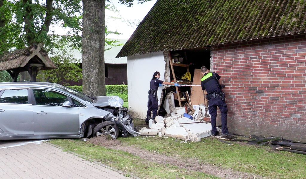Unfall in Insel