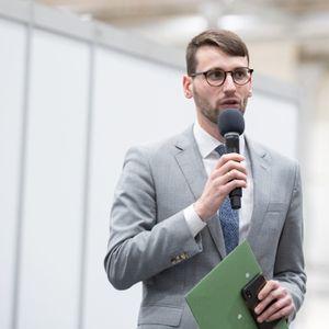 Martin Helfrich, Sprecher der Sozialbehörde