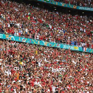 Zuschauer bei der Fußball-EM