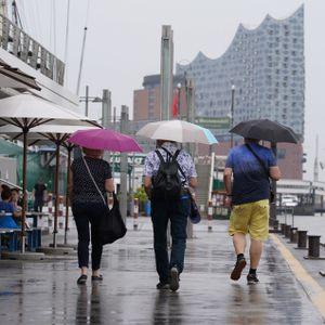 Die neue Woche bringt in Hamburg einigen Regen mit sich.