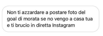Drohung gegen Frau von Alvaro Morata