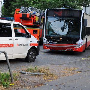 Hamburg HVV Bus Unfall