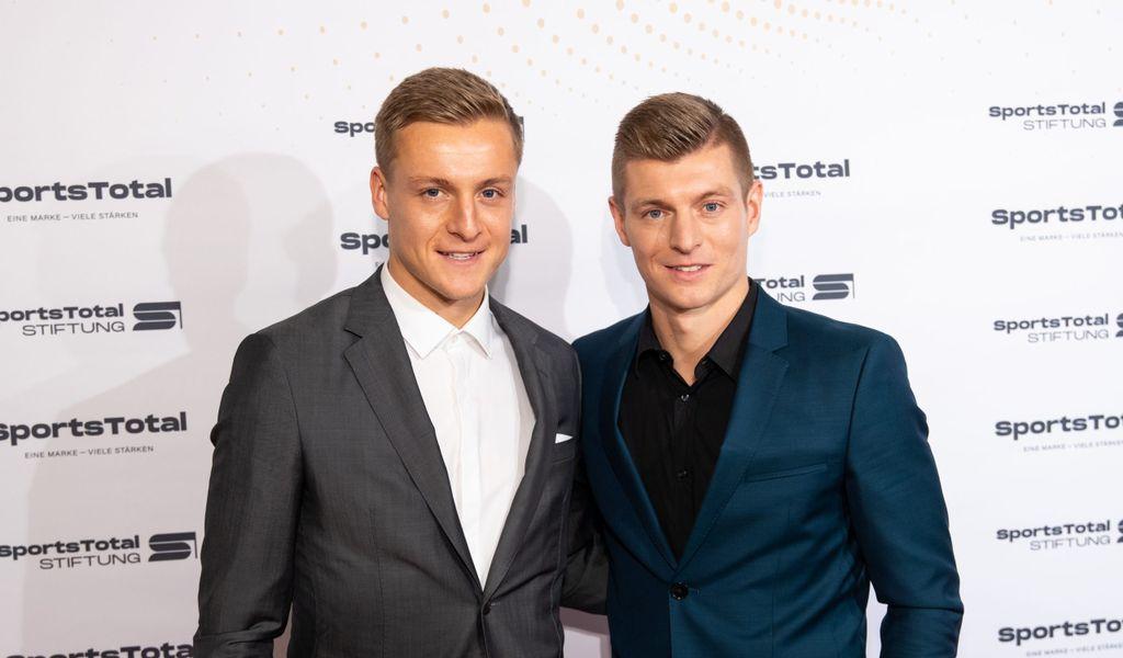Felix und Toni Kroos