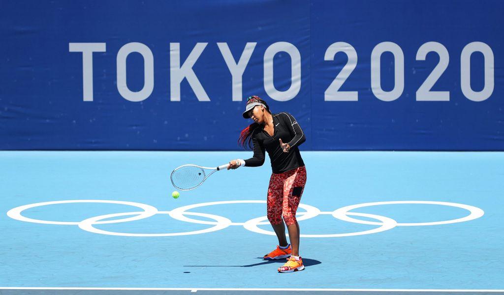 Tennis-Star Naomi Osaka bei Olympia