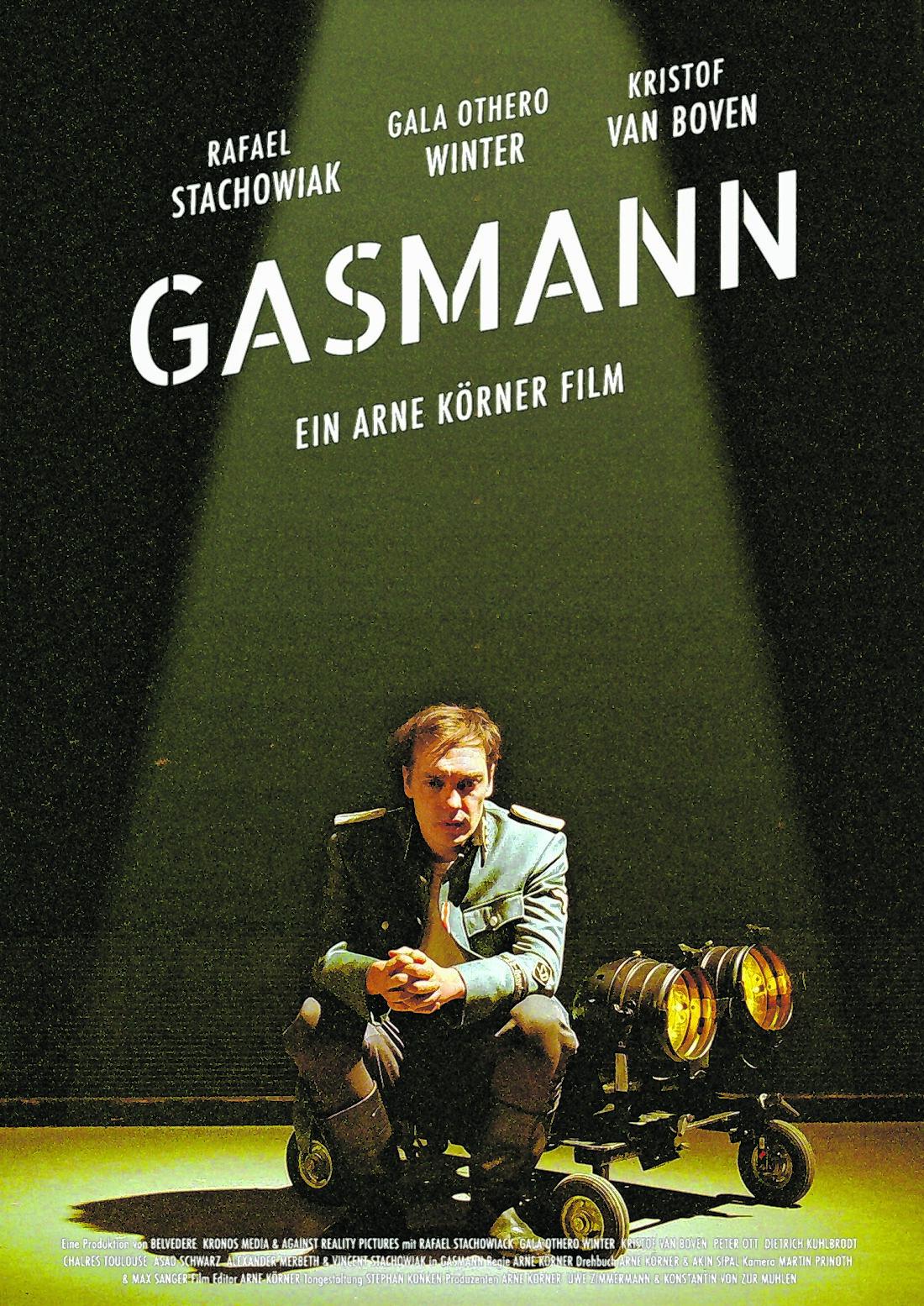 """Filmplakat """"Gasmann"""""""