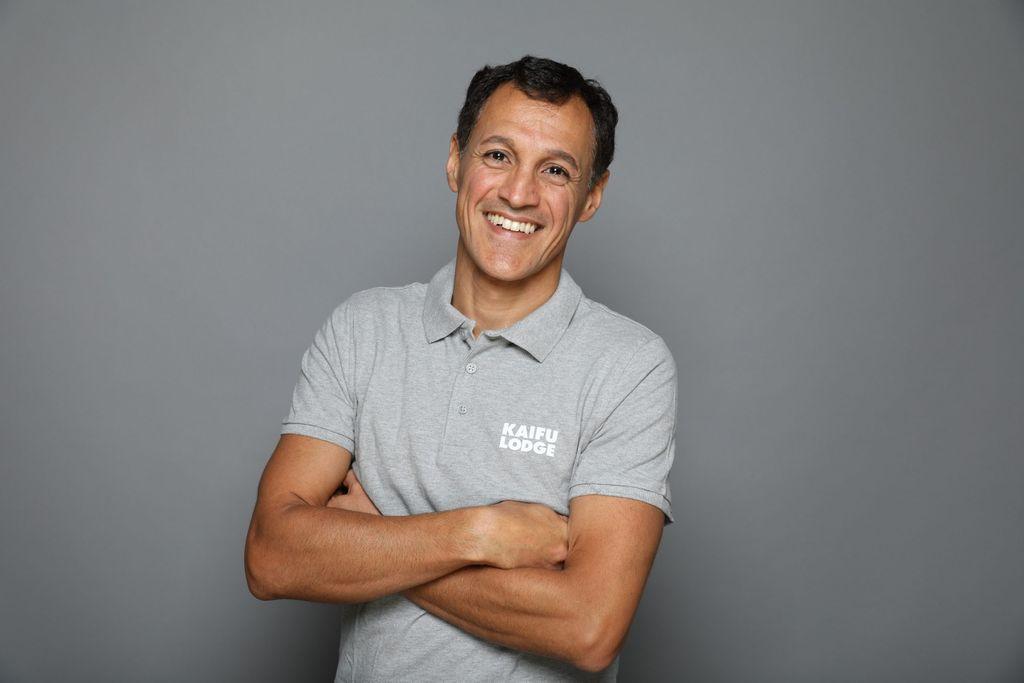 Kevin Nafar, Geschäftsleitung bei der Kaifu-Lodge.