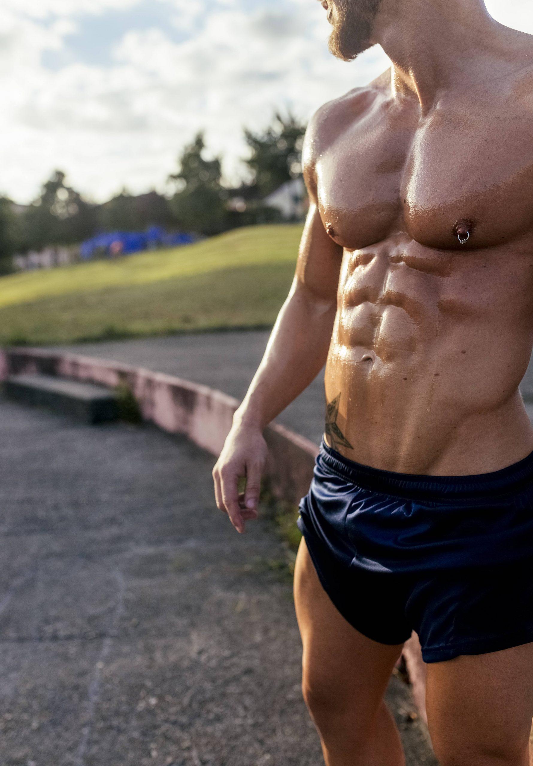 Schultern mann hüfte schmale breite Was ist