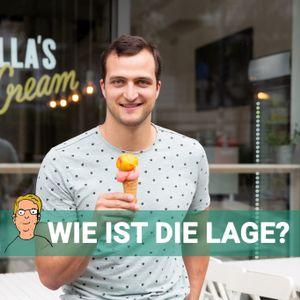 Markus Deibler mit einer Tüte Eis
