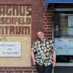Anne Feldmann ist Projektleiterin des queeren Aufklärungsprojekts Soorum
