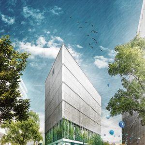 Neues Hotel von Viva con Agua: So soll die Villa Viva im Hamburger Münzviertel einmal aussehen.