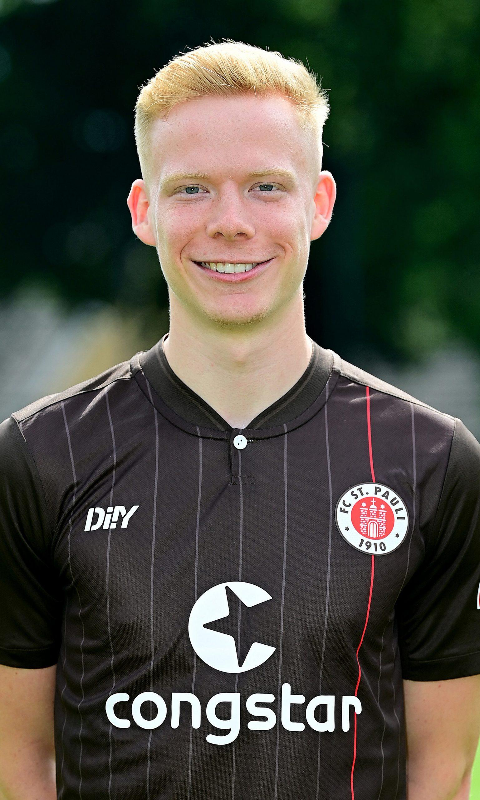 FC St Pauli Jannes Wieckhoff