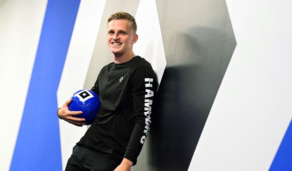 Mikkel Kaufmannn freut sich auf seine Zeit beim HSV.
