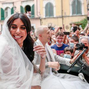 Hochzeit von Federico Bernardesch und Frau Veronica.