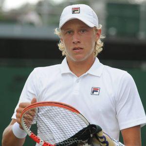 Leo Borg tritt in Wimbledon beim Junioren-Wettbewerb an.