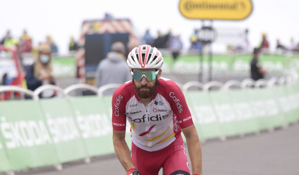 Simon Geschke auf dem Fahrrad