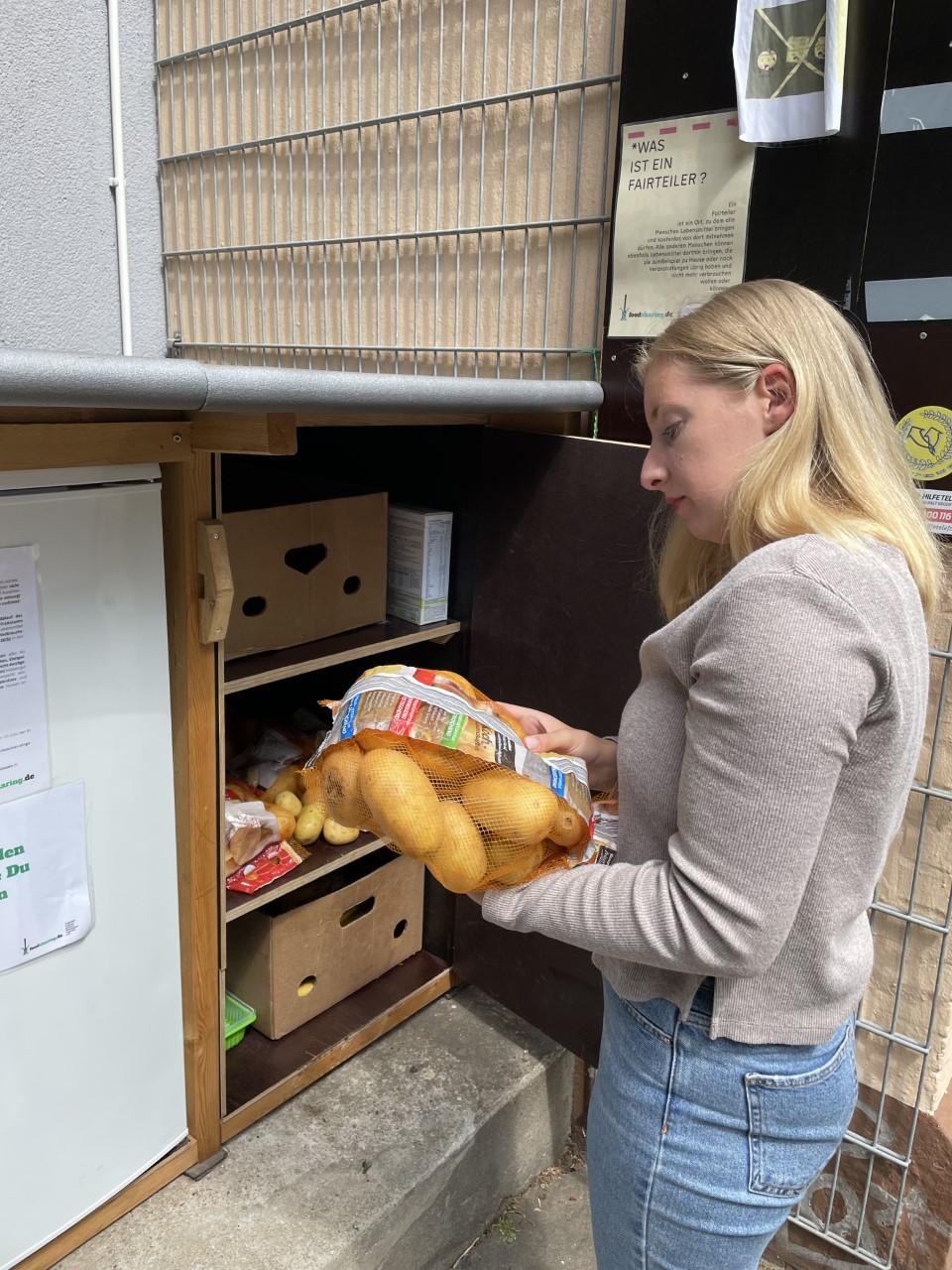 Heute Abend gibt es bei Ricarda Kupzok (26) ein Kartoffel-Gericht.