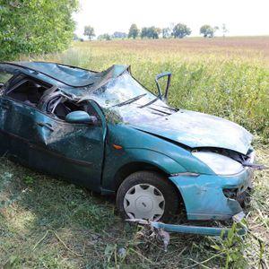 In diesem Ford wurden zwei Erwachsene und drei Kinder zum Teil schwer verletzt.