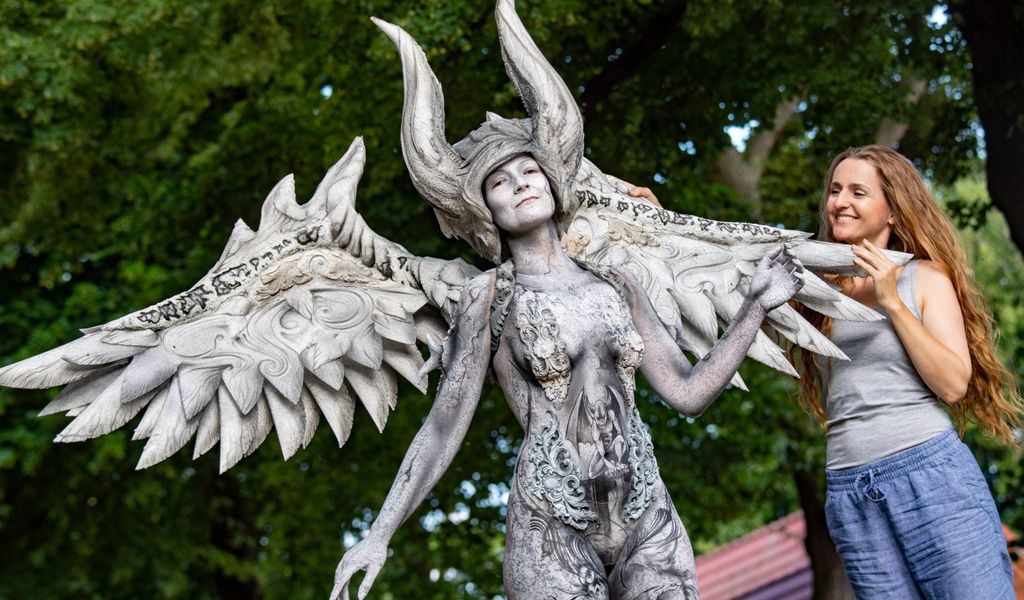 Bodypainting Weltmeisterin