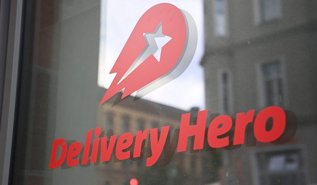 Delivery Hero Schild