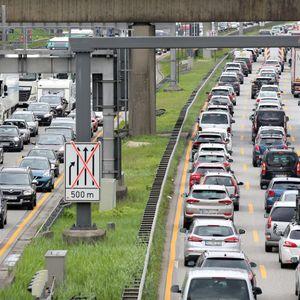 Auf Hamburgs Autobahnen gibt es am Samstag insgesamt 43 Kilometer Urlaubs-Stau.