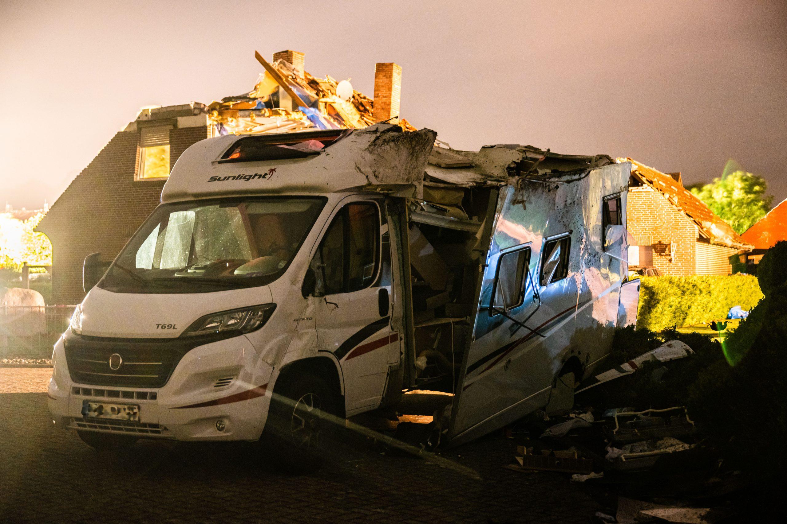 Wohnmobil Sturm Ostfriesland