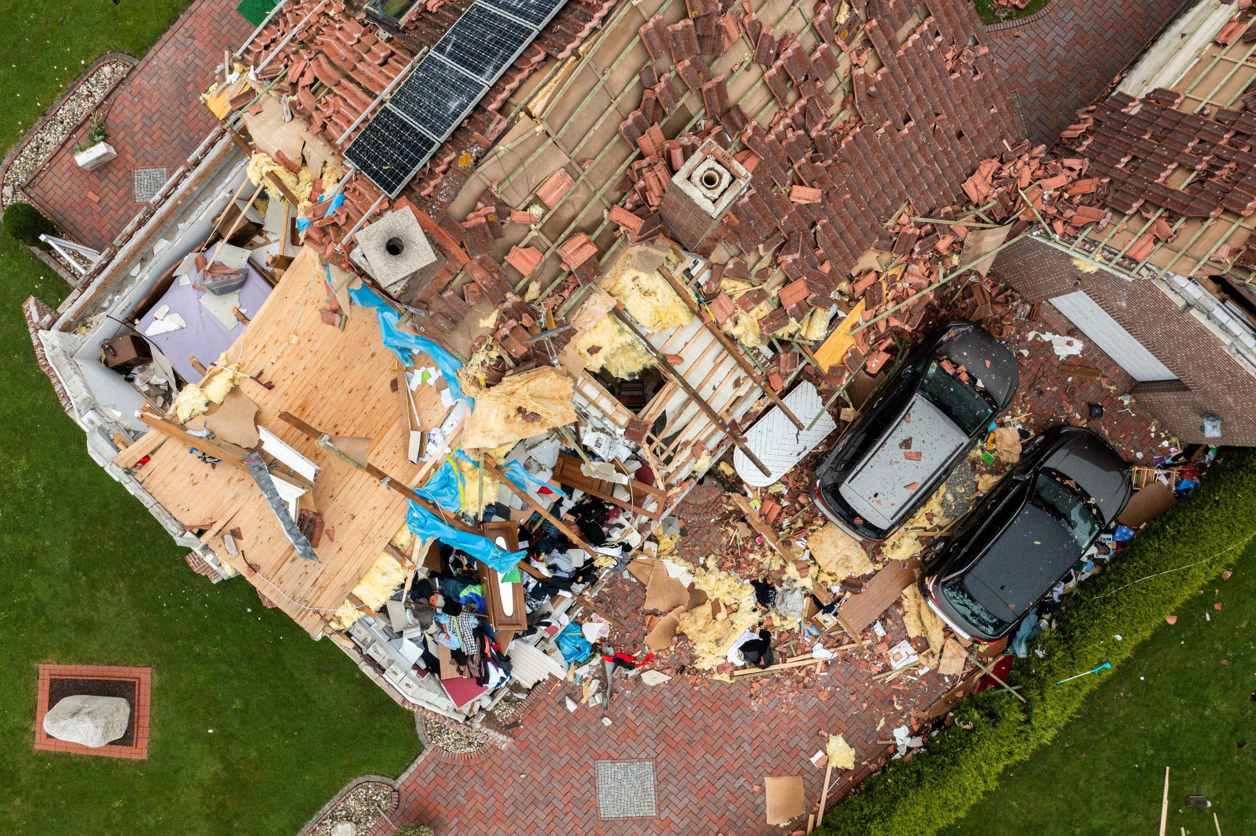Haus in Berumerfehn Tornado